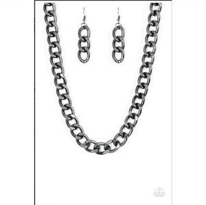 paparazzi Jewelry - Heavyweight Champion Necklace